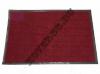 Резиновый коврик красный